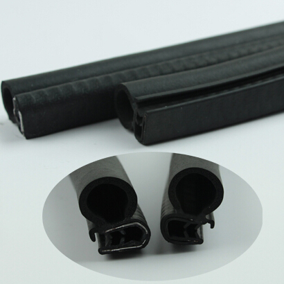 Rubber Edge Trim With Bulb Seal Epdm Rubber Seal Strip